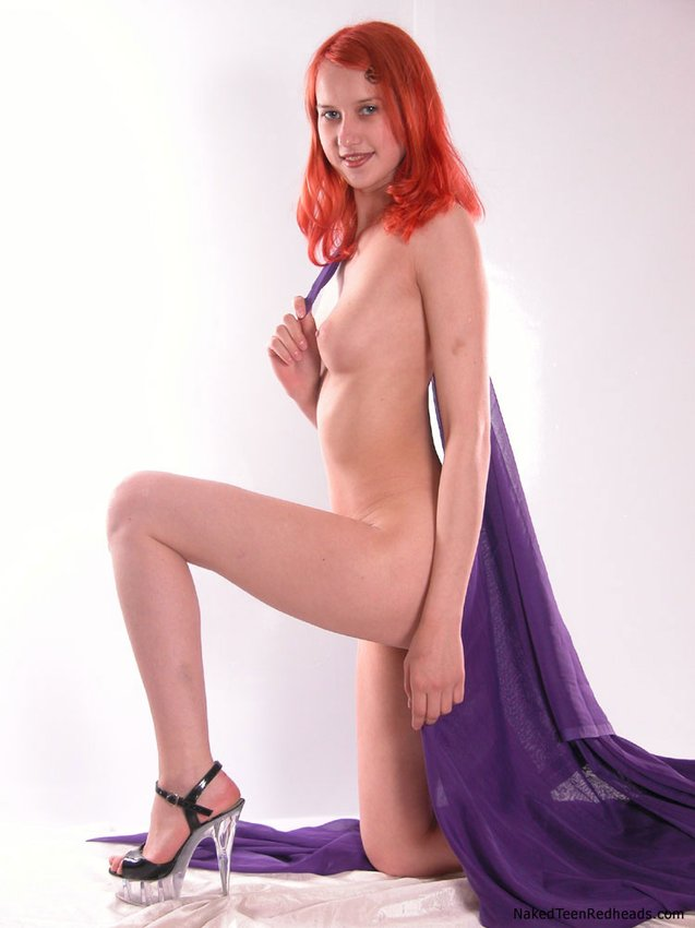 Teen red red hair